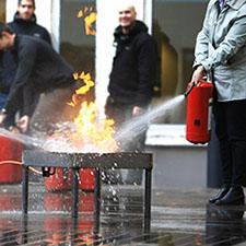 Brandutbildning i Stockholm
