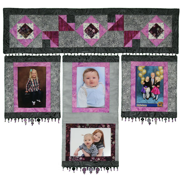 "The Mini Family Quilt - 27"" x 25"""