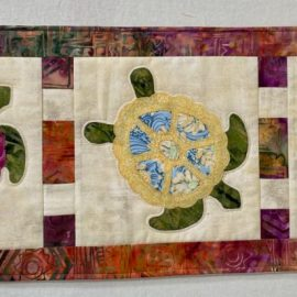 Quilting the Turtle Table Runner