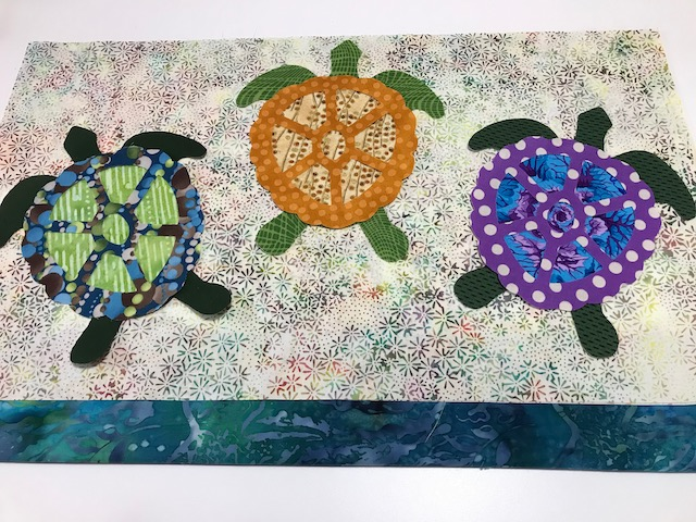 Tagalong Turtles Table Runner Kit