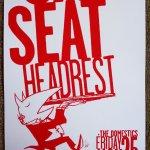 Car Seat Headrest 2016 Gig Poster Portland Oregon 11x17 Concert Will Toledo