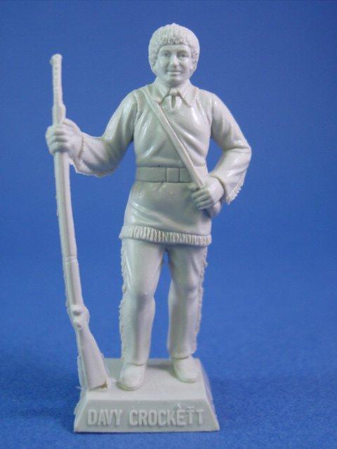 Marx Alamo Playset Toy Soldiers 60mm Davy Crockett On