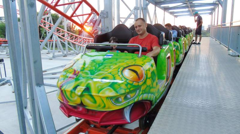 Roller coaster - Family coaster - Romania - Anaconda