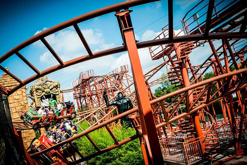 Roller coaster - Double coaster - Mirabilandia - Master Thai