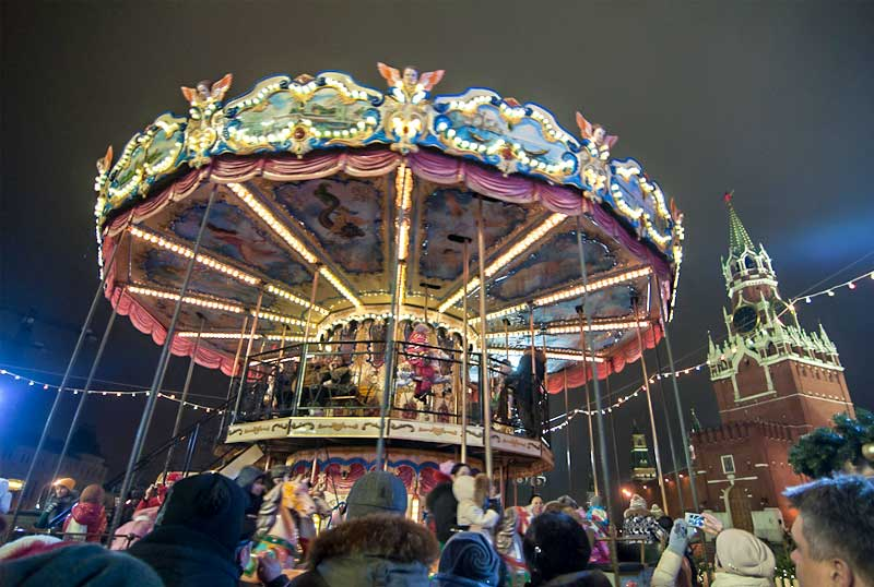 Carousel double deck
