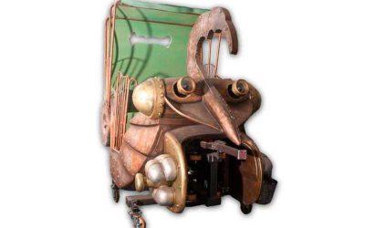 Monorail - Vehicle steampunk - 3 seat