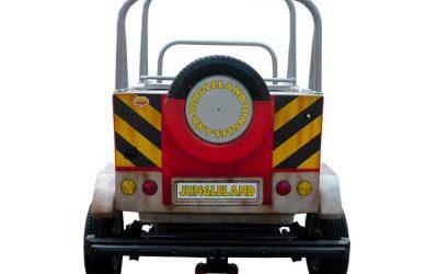 Safari car - Back