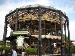 Carousel double deck