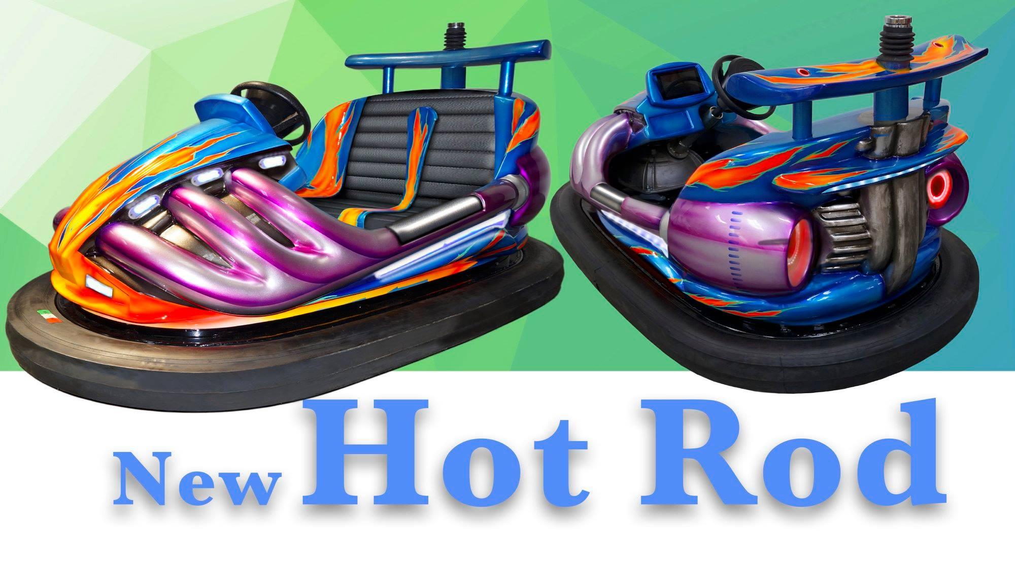 Bumper car - Hot Rod - cover