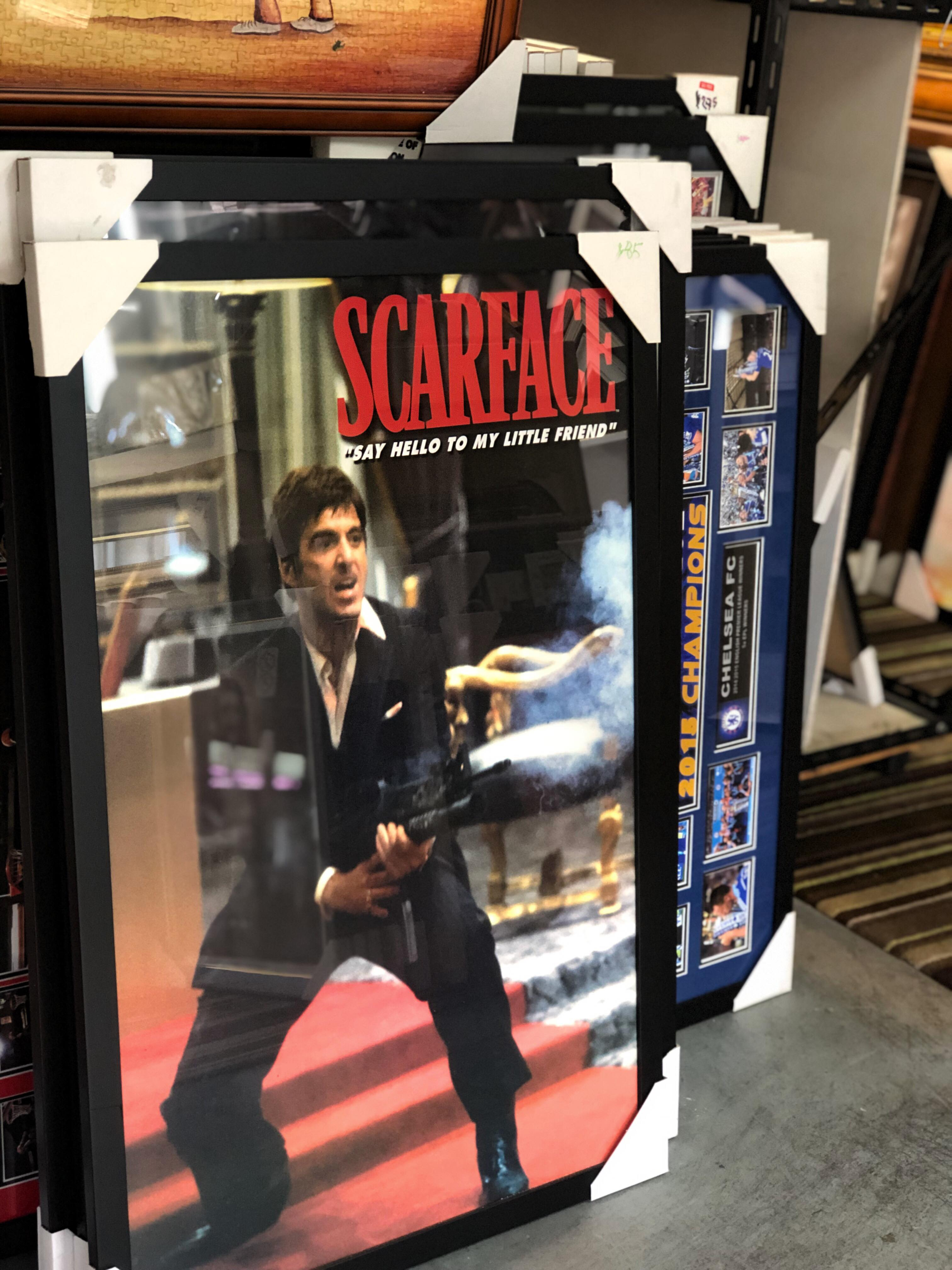 scarface poster frame from picture