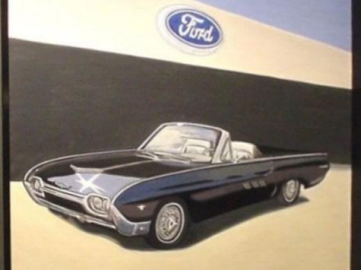 Ford Thunderbird, mod. 1963