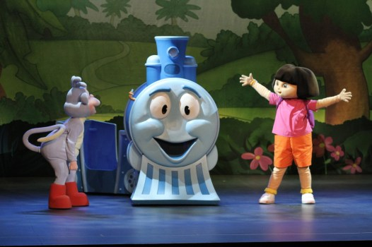 Nickelodeon's Dora The Explorer Live! Search for the City of Lost Toys, Nick Jr, Dora the Explorer
