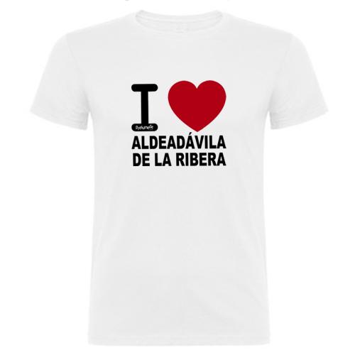 pueblo-aldeadavila-ribera-salamanca-camiseta-love