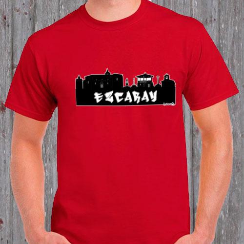 Camisetas Skyline de pueblos de España
