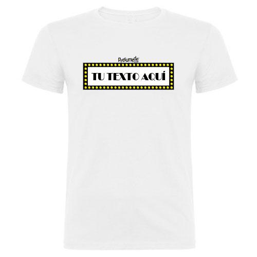 Camiseta BROADWAY de pueblos de España
