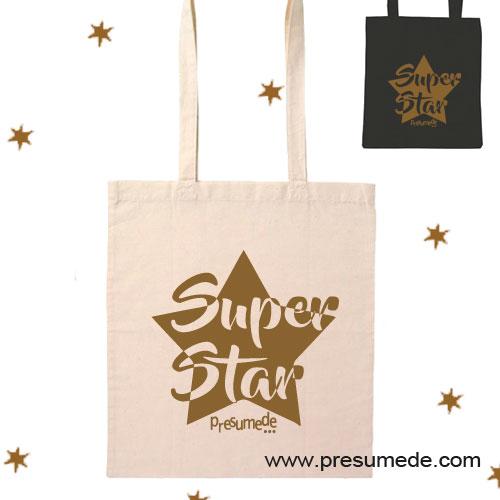 Bolsa de algodón SUPER STAR