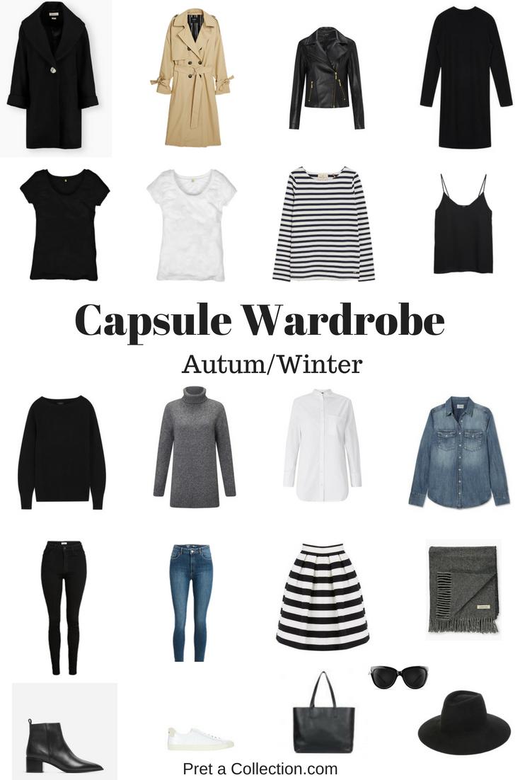 Fall/winter capsule wardrobe