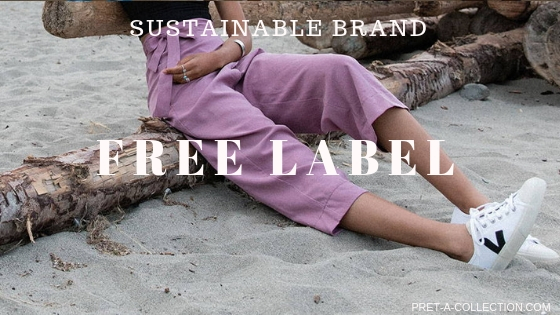 Sustainable brand - Free label