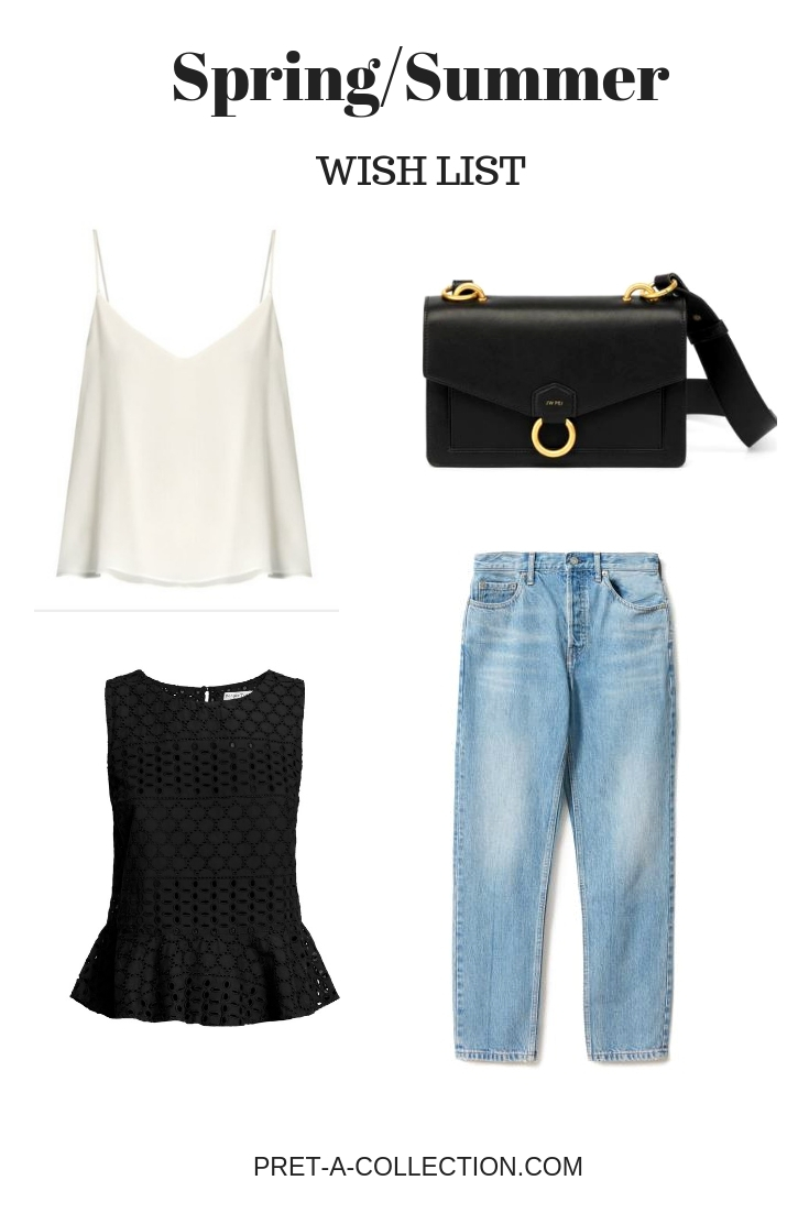 Spring/Summer Wishlist