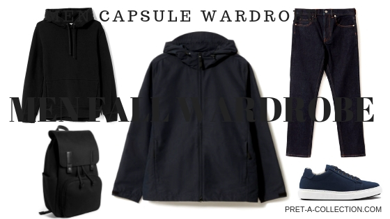 Men fall capsule wardrobe