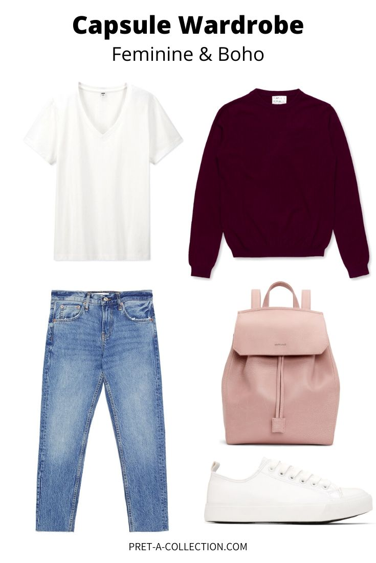 How to add colour to your capsule wardrobe, feminine and boho style