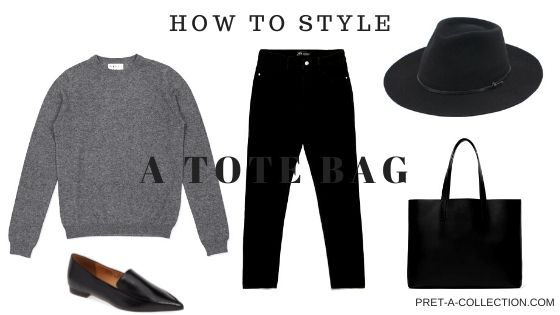 How to style a tote bag