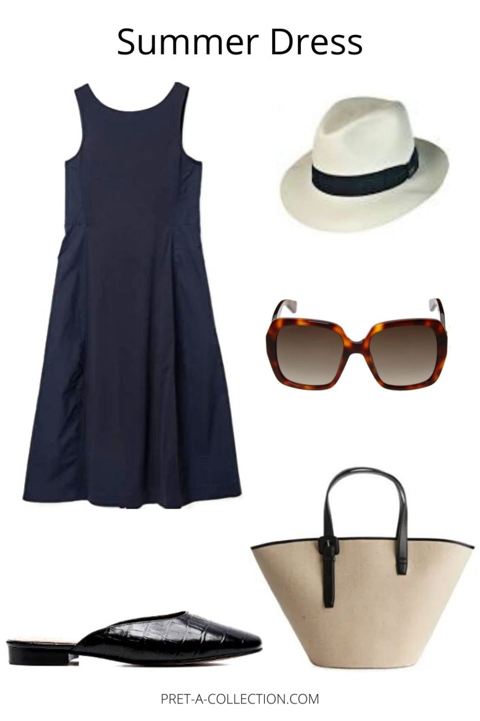 Minimalist summer dresses