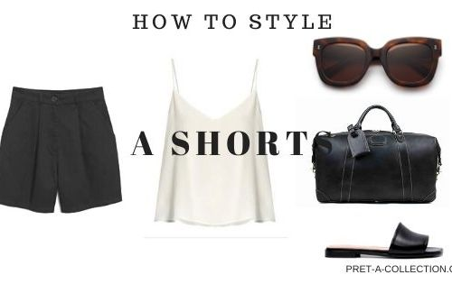 How to style shorts