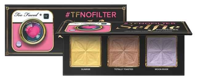 Novedades en Too Faced: paleta Selfie Powders