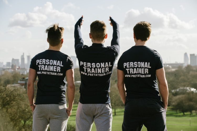 Personal trainer east of London team