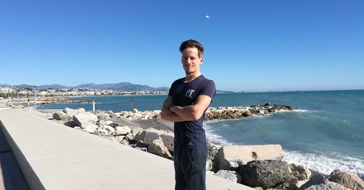 Personal trainer in Nice Romain CEO Pret-a-Train