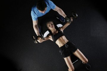 personal trainer students