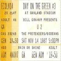 pretenders live shows 1987