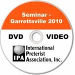 Seminar - Garrettsville 2010 (3 DVDs)