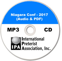 Niagara Pret Conf 2017 (MP3 CD)