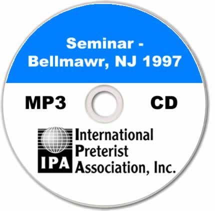 Seminar - Bellmawr NJ (6 tracks)