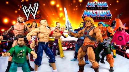 SDCC 2012 - WWE vs MOTUC