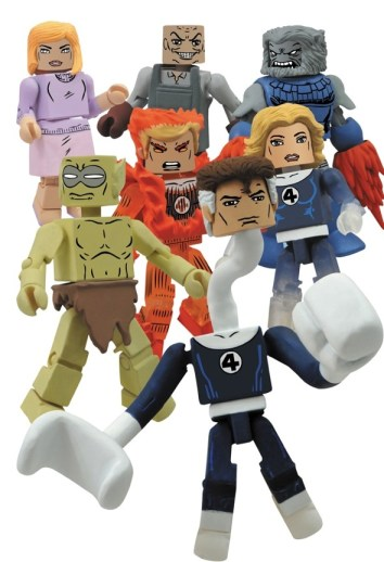 Diamond Select Marvel Minimates Series 48 - Fantastic Four