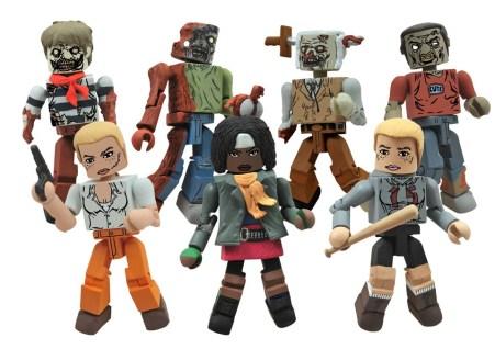 Diamond Select Walking Dead Minimates Series 2 - SPecialty Shops