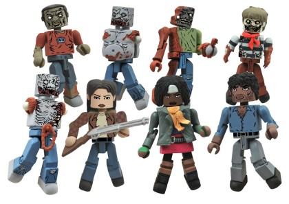 Diamond Select Walking Dead Minimates - Series 2 Toysrus