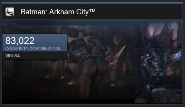 Steam Batman Arkham City COmmunity Page