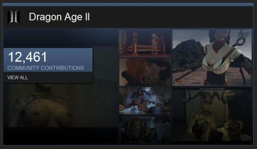 Steam Dragon Age II Community Page