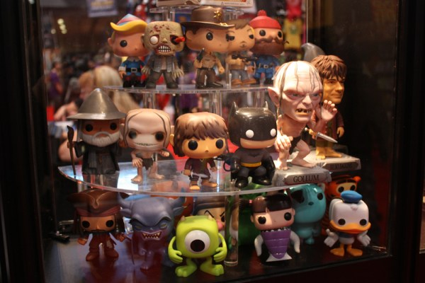 NYCC 2012: Funko POP Display