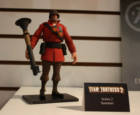 Toy Fair 2013: NECA TF2 Soldier