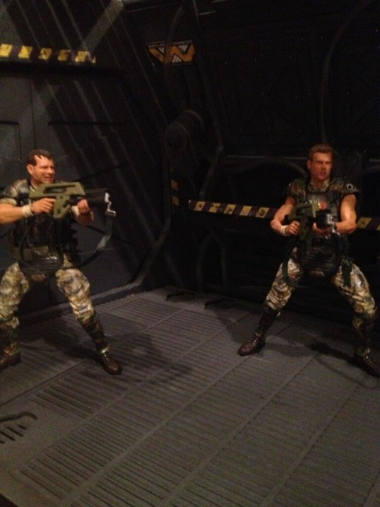 NECA Aliens Hicks and Hudson