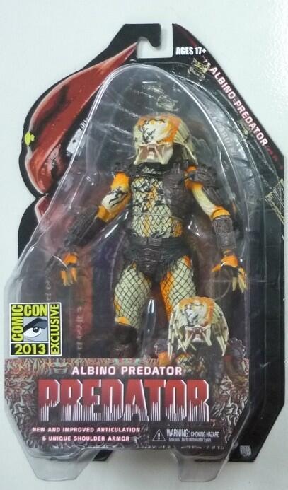 SDCC 2013 Exclusive Albino Predator Carded Dead End NECA