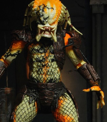 SDCC 2013 Exclusive Albino Predator Dead End NECA