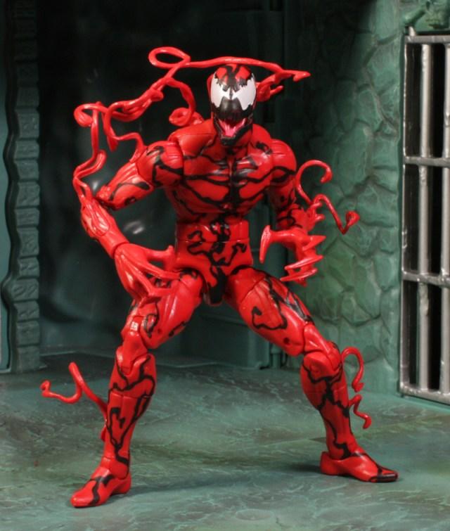 Marvel Legends Spider-Man Infinite Series Carnage Review Hasbro