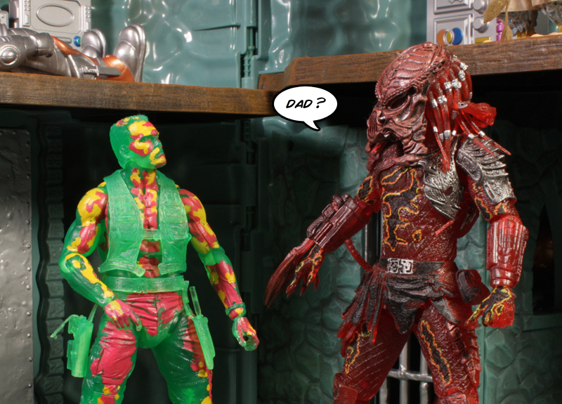 Predator Toys R Us : Neca predator thermal vision dutch review « preternia