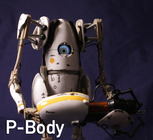 3A Valve Portal 2 Atlas and P-Body 1/6 Scale Review